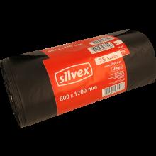 SACO LIXO SILVEX 800X1200 CM 180 LT