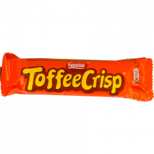 CHOCOLATE TOFFEE CRISP 38 GR