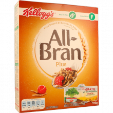 CEREAIS ALL BRAN PLUS KELLOGG'S 375 GR