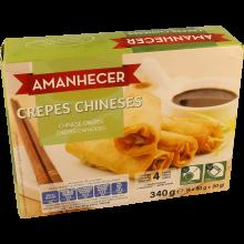 CREPES CHINESES CONGELADOS AMANHECER 340  GR