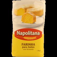 FARINHA TRIGO COM FERMENTO NAPOLITANA 1 KG