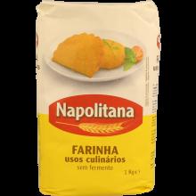 FARINHA TRIGO SEM FERMENTO NAPOLITANA 1K G