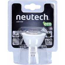LÂMPADA LED MR16 GU5 12V 3,8W NEUTECH