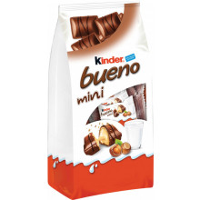 CHOCOLATE KINDER BUENO MINI KINDER 108GR GR