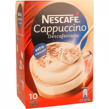 CAPPUCCINO DESCAFEINADO NESCAFÉ 10X12,5G R