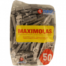 MOLAS ROUPA MAXIMOLAS NEOLAR 50 UNIDADES