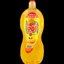 DETERGENTE LOIÇA LIMÃO SUPER POP 1200+200 ML