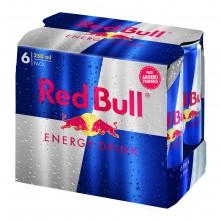BEBIDA ENERGETICA RED BULL 6X25 CL