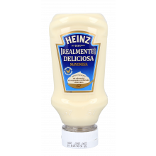 MAIONESE DELICIOSA TOP DOWN HEINZ 220 ML