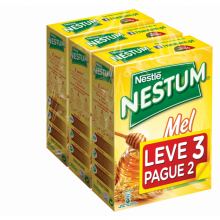 FLOCOS NESTUM MEL LEVE 3 PAGUE 2  300 GR