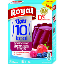 GELATINA ROYAL LIGHT FR BOSQUE 31GR
