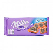 TAB CHOCOLATE MILKA OREO SANDWICH 92G