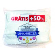 TOALHITAS DE BEBÉ AMANHECER 4 X 72 UN + 50%