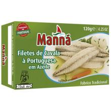 FILETE CAVALA MANNA PORTUGUESA AZEITE  1 20G