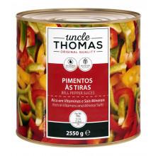 PIMENTOS TIRAS 3 CORES UNCLE THOMAS 2,55