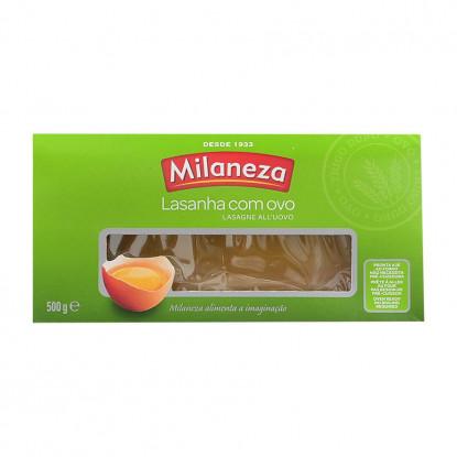 MASSA MILANEZA LASANHA C/OVO 500G