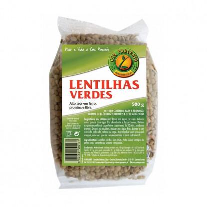 LENTILHAS VERDES CEM PORCENTO 500G