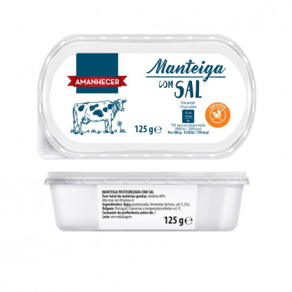 MANTEIGA AMANH C/SAL CV 125GR