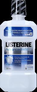 ELIXIR LISTERINE ADVANCED WHITE 500ML