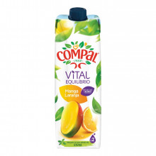 COMPAL VITAL MANGA/LARANJA 1L