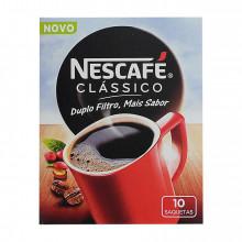 CAFÉ SOLÚVEL CLÁSSICO DOSES NESCAFÉ 10UN