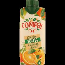 SUMO COMPAL 100% LARANJA 33CL