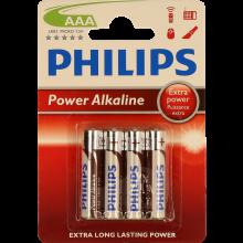 PILHA PHILIPS POWER LIFE BL4 LR03