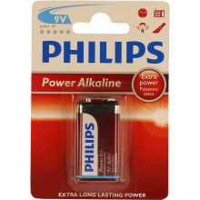 PILHA PHILIPS POWER LIFE BL1 6LR61