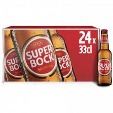 CERVEJA C/ALC SUPER BOCK 24X33CL