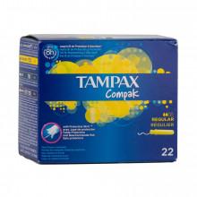 TAMPAO C/APLIC TAMPAX COMPAK REG 22UN