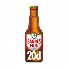 CERVEJA C/ALC SAGRES 20CL TR