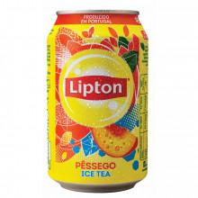 ICE TEA LIPTON PESSEGO LATA 33CL