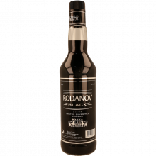 VODKA RODANOV BLACK 70CL