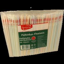 PALHINHAS FLEX.500UN.INDIV MCHEF(555137)
