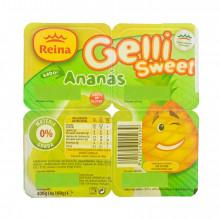 SOB.GELLI SWEET ANANAS 4X100GR