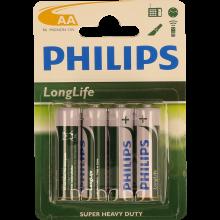 PILHA PHILIPS R6 BL LONGLIFE