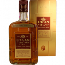 WHISKY LOGAN HERITAGE BLEND 70CL