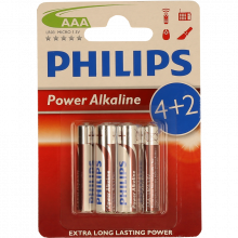 PILHAS PH.POWERLIFE LR03 BL4+2