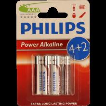 PILHAS PH.POWERLIFE LR03 BL4+2