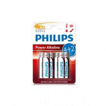 PILHAS PH.POWERLIFE LR6 BL4+2_715127