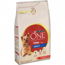COM SC CÃO PURINA ONE MINI ADULT 1,5KG