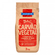CARVAO VEGETAL AMANHECER 3KG