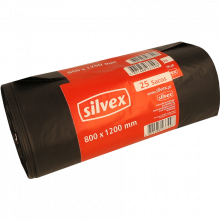SACO LIXO SILVEX 800X1200 180L