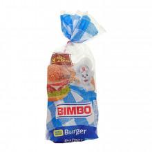 PÃO HAMBURGER BIMBO 4 UN 220G