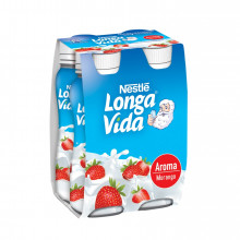 IOG LIQ AROMA LVIDA 160G, MORANGO