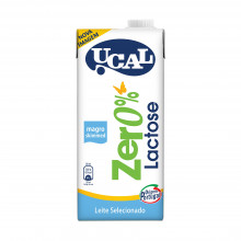 LEITE UHT MAGRO UCAL 0% LACTOSE 1LT