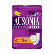 PENSO INCO AUSONIA DISCREET EXTRA 10UN