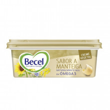 CREME VEGETAL BECEL SABOR MANTEIGA 250G