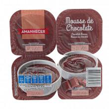 MOUSSE CHOC AMANH 4X60GR
