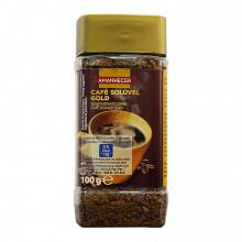CAFE SOLUVEL AMANH GOLD 100GR